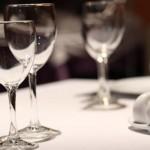 Bicchieri a tavola